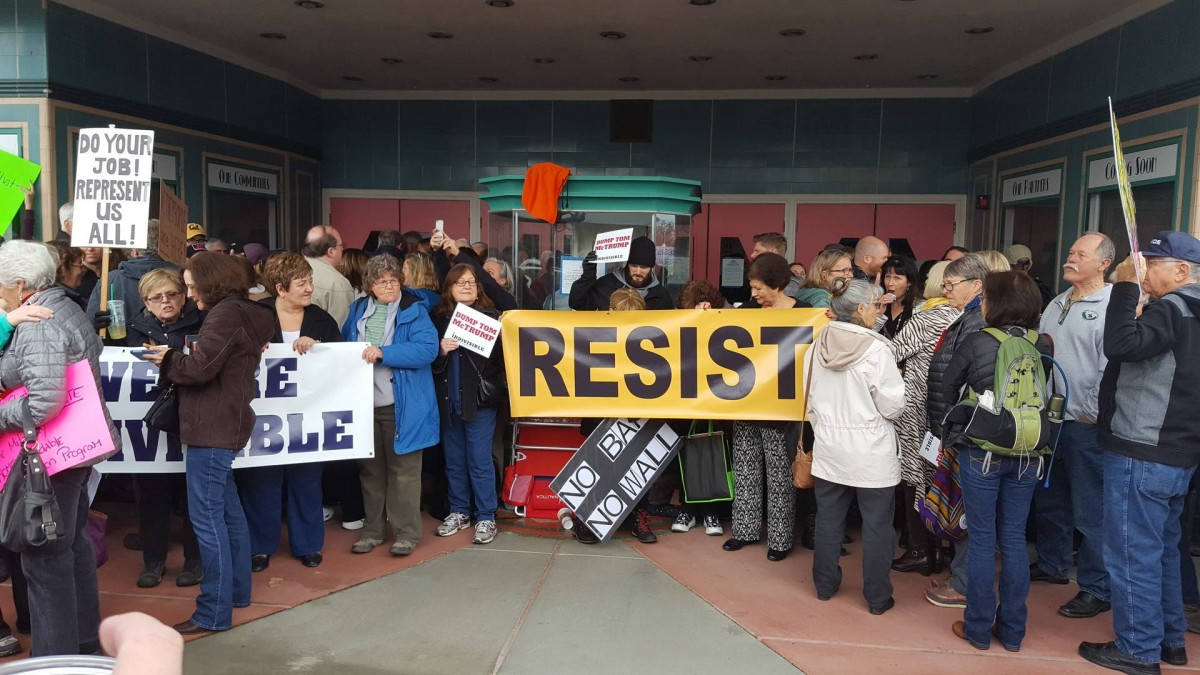 Trump resistance, anti-Trump protests, Donald Trump, GOP, nationwide protests