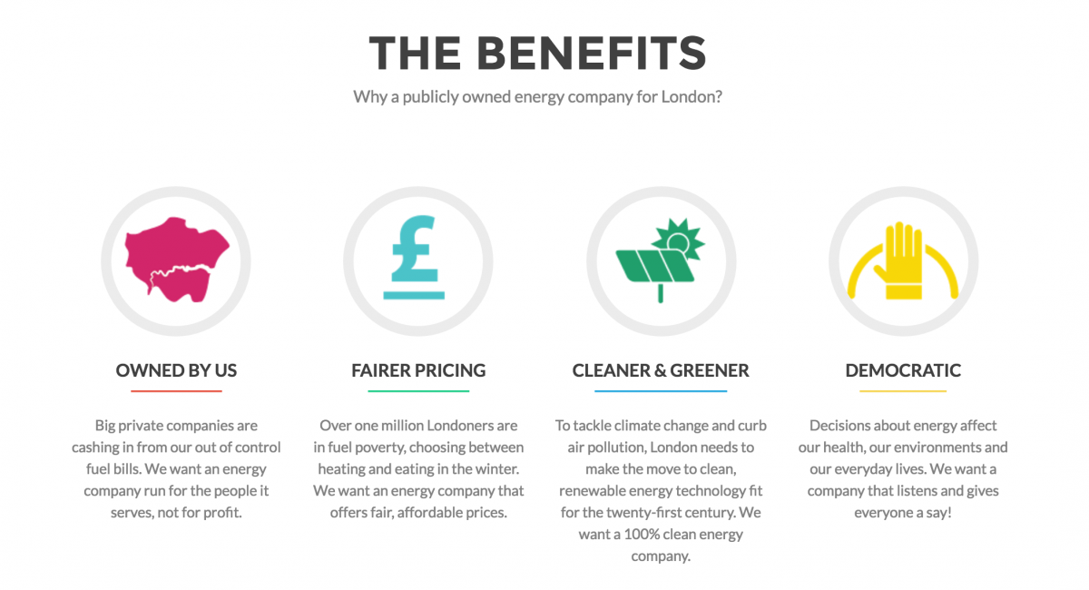 green energy, green London, Switched On London, publicly owned energy companies, energy privatization, renewable energy, Algerian Solidarity Campaign, Jeremy Corbyn, Sadiq Khan