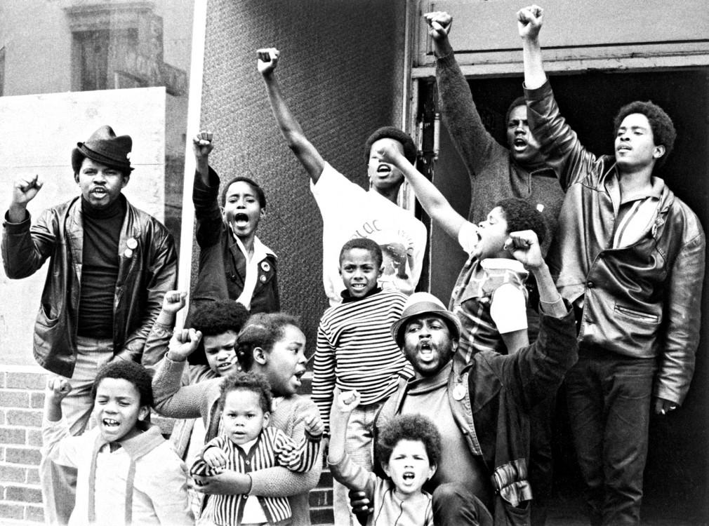 Black Lives Matter, #BlackLivesMatter, Black Panthers, Black Panther Party, Ferguson protests, Michael Brown, racial injustice, police killings, police violence, police brutality, Huey Newton, Bobby Seale, Fred Hampton