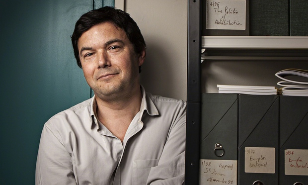 """Thomas Piketty, The Guardian, """"Capital in the Twenty-First Century,"""" income inequality"""