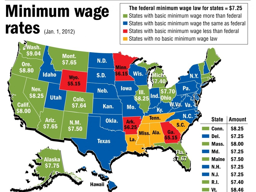 what is the current minimum wage in seattle