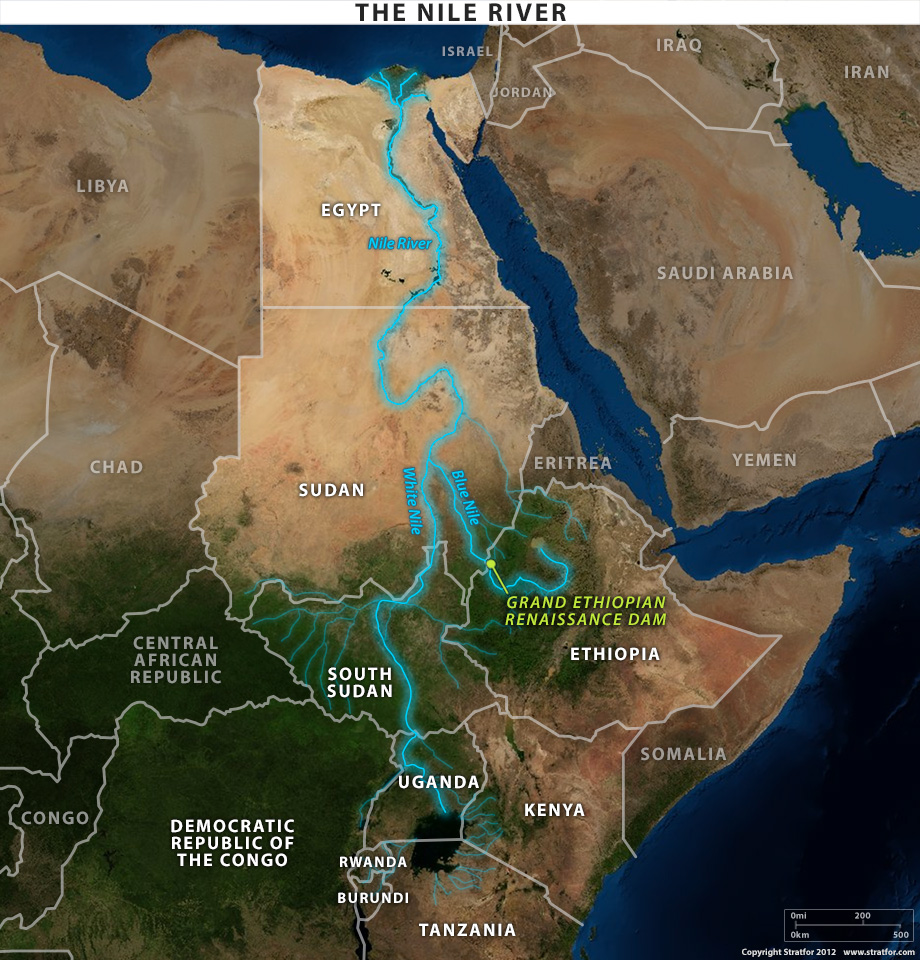Egypt And Ethiopia Spar Over Future Of Water As Massive