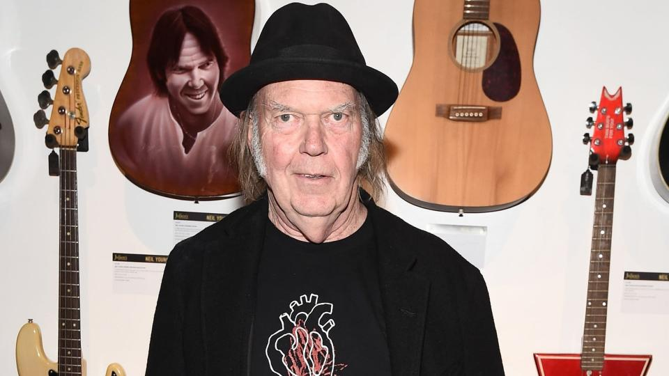 Monsanto 'fusion center' officials wrote lengthy reports about singer Neil Young's anti-Monsanto advocacy. Photograph: Dan Steinberg/REX/Shutterstock