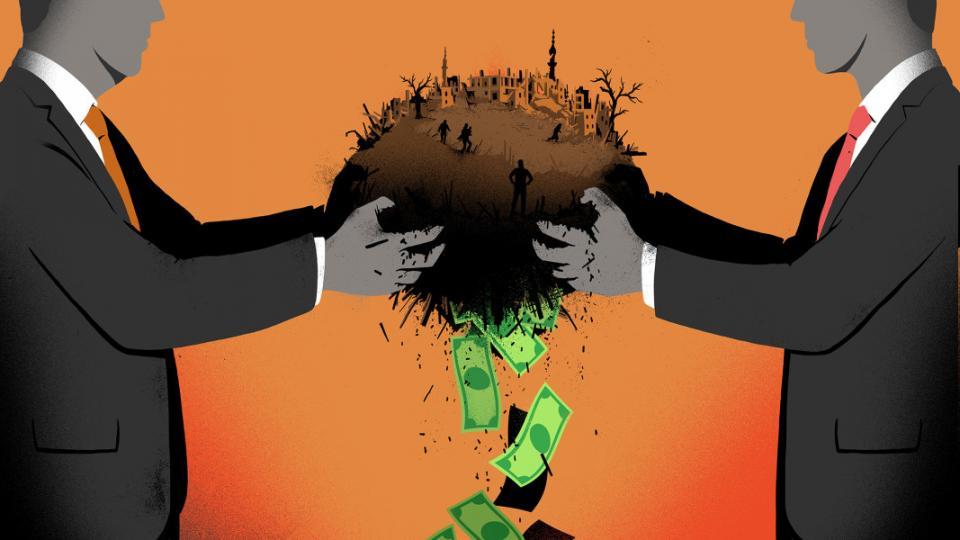 arms industry, war machine, Rojava, Syria war