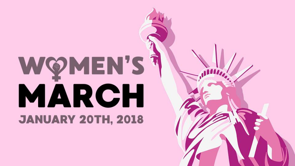 women's march, Power to the Polls, women candidates, women empowerment