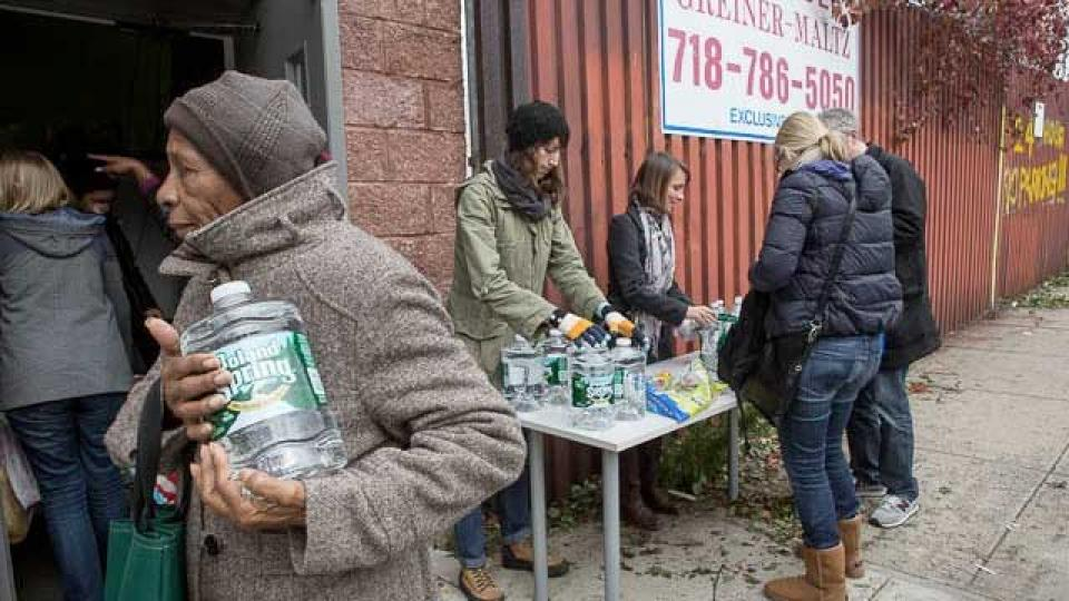Allied with Occupy, Disabled Victims of Sandy Persevere