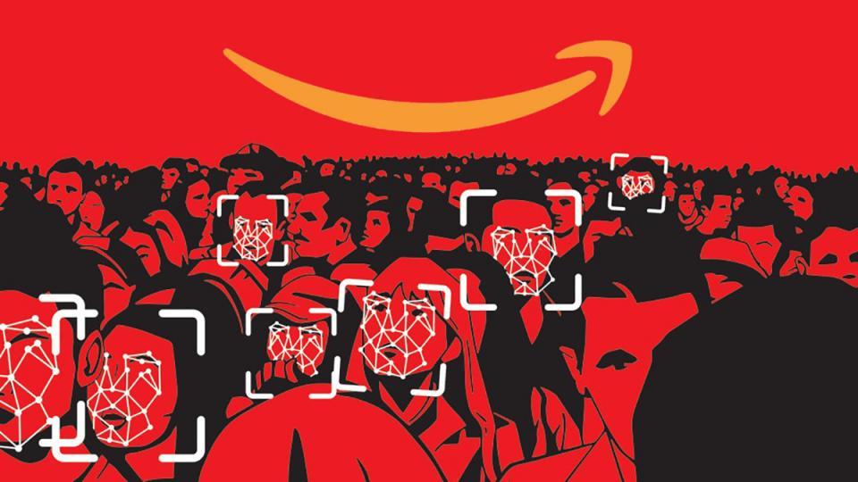 Amazon cloud storage, Rekognition, Amazon Web Services, facial recognition software, face collection, surveillance state, surveillance tools, FBI monitoring, dragnet
