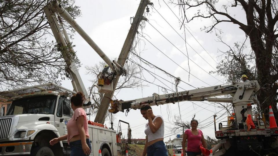 Puerto Rico electricity, Puerto Rico power outage, disaster capitalism, PREPA, privatization, Ryan Zinke