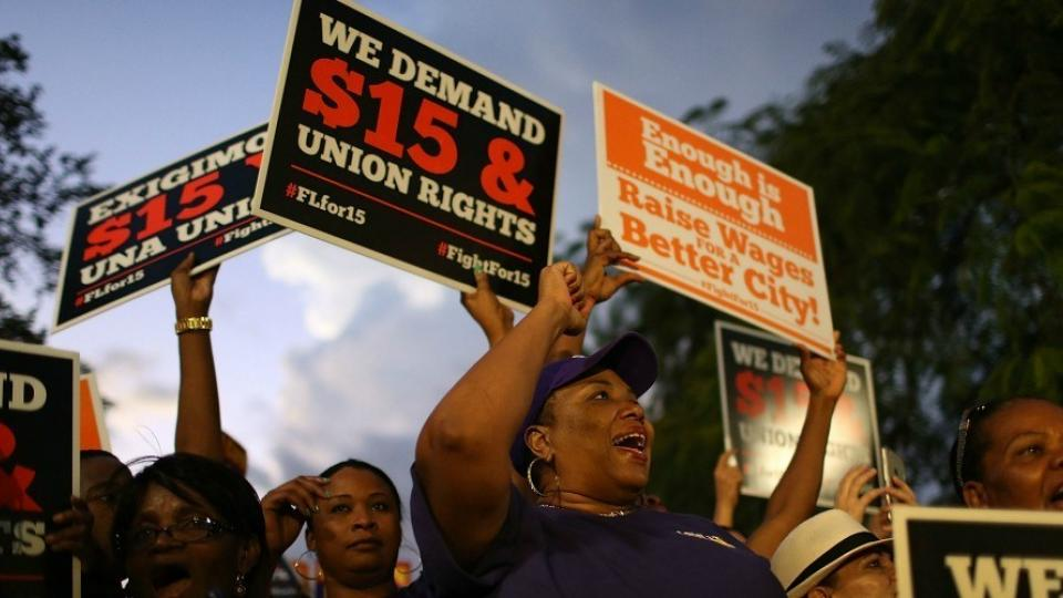 minimum wage, $15 an hour, Raise the Wage Act, wage hikes, raising the minimum wage, federal minimum wage
