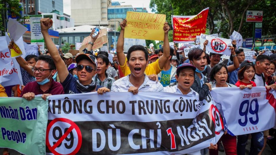 Special Economic Zones, Vietnam neoliberalism, Vietnamese protests, Vietnamese democracy, democratic organizing, Chinese influence