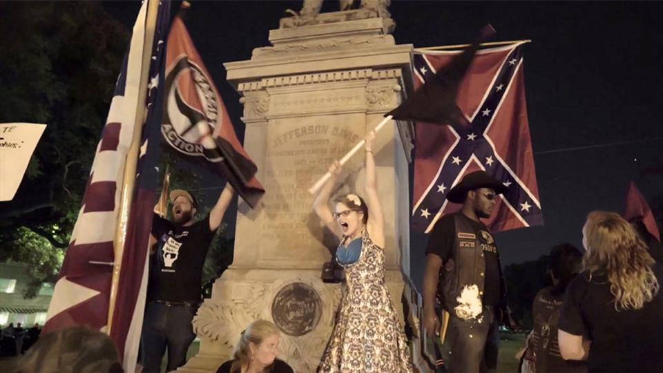 neo-Nazis, monuments debate, white supremacy, Confederate statues