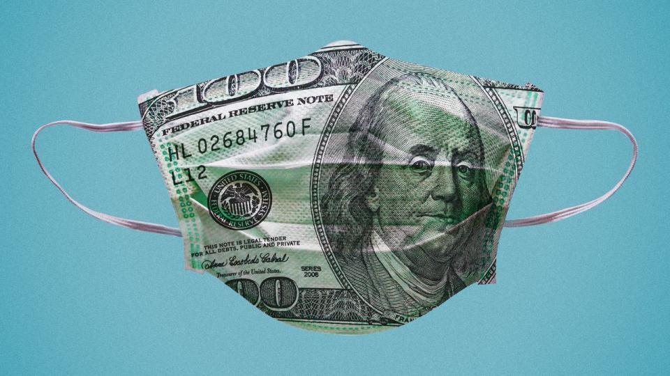 2008 financial crash, rising debt, COVID-19 pandemic