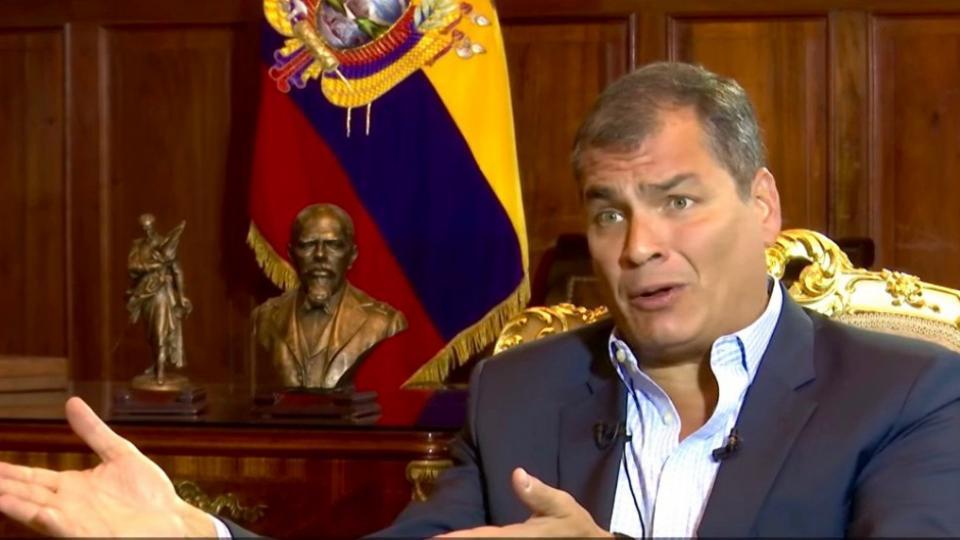 Abby Martin, Rafael Correa, The Empire Files, regime change, Chevron oil spills