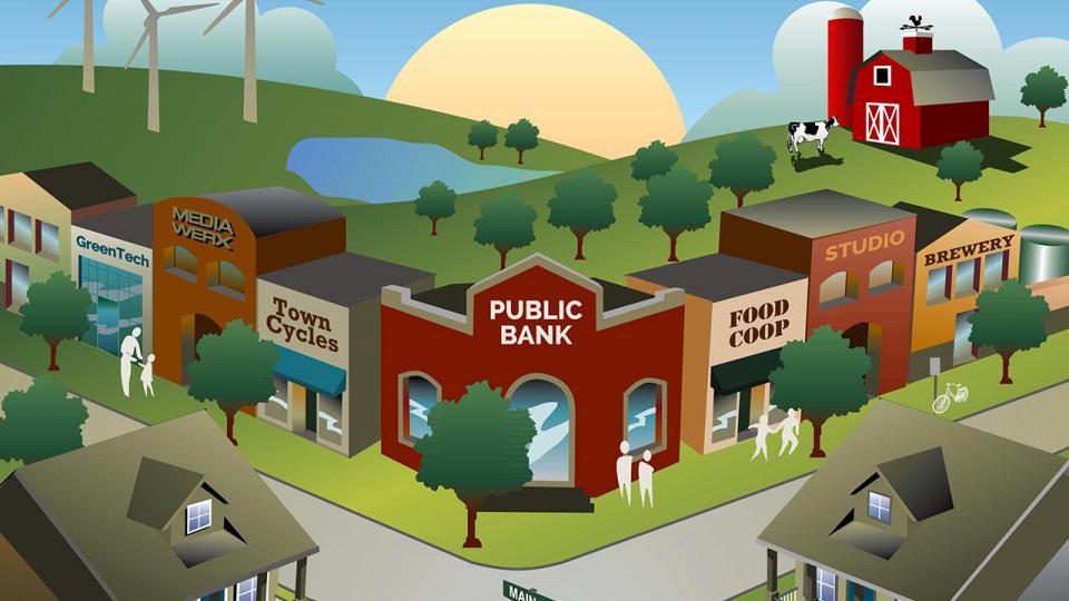 public banking movement, public banks, public financing, economic democracy, Public Banking Institute, Federal Reserve