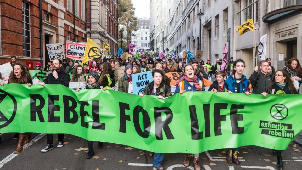 Extinction Rebellion, climate fight, climate demands, ecocide, runaway climate change, sixth extinction