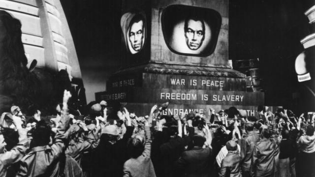 Bernie Sanders, George Orwell, 1984, Antonio Gramsci, Ralph Nader, Donald Trump, Hillary Clinton, money in politics, Physicians for a National Health Program, Green Party, Libertarian Party, mass mobilizations, mass protests