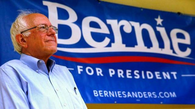 Bernie Sanders, Berning of America, Occupy movement, political revolution