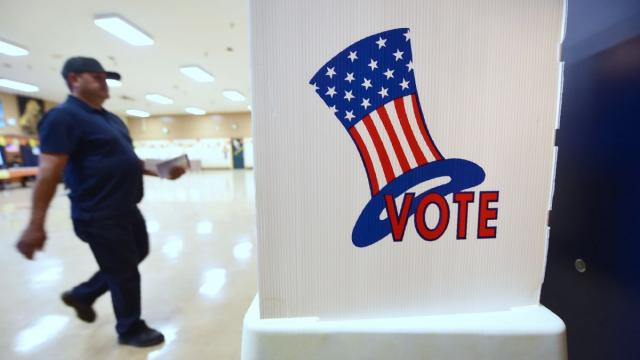 Texas's electoral practices have frequently become mired in litigation. Photograph: Frederic J. Brown/AFP/Getty Images