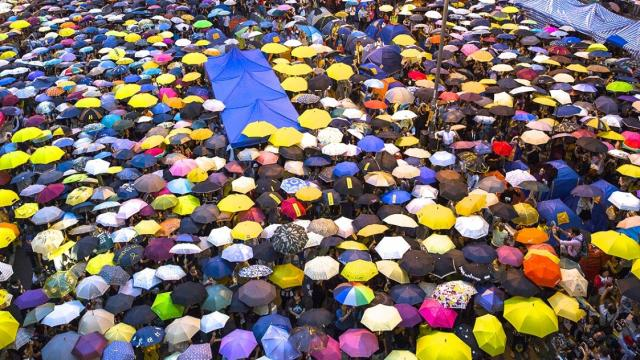 Hong Kong, Umbrella Movement,