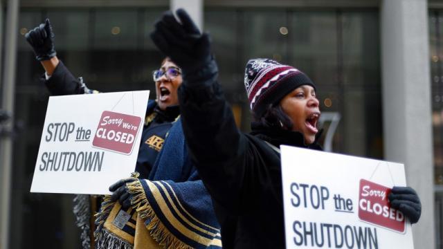 government shutdown, Trump shutdown, 1%, FEMA, National Association of Realtors