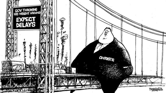 Why governor chris christie and his aides belong in handcuffs occupy