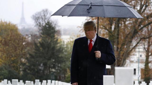 Trump, Armistice Day, Trump nationalism, white nationalism, America First