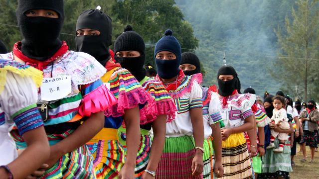 Zapatista rebellion, Subcomandante Marcos, Zapatista government, Zapatista organizing model, anti-globalization movement