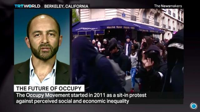 TRT World, Occupy.com, Michael Levitin, Bernie Sanders, Paris