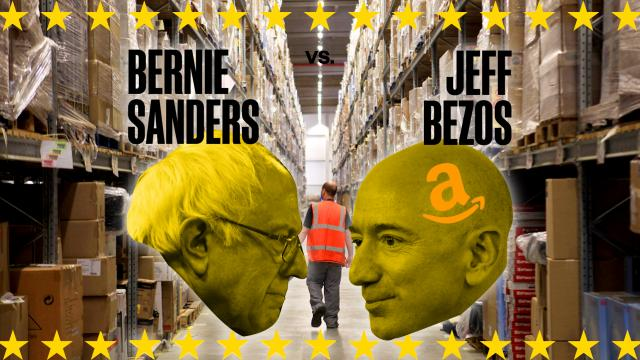 Stop BEZOS Act, Senate, Jeff Bezos, Bernie Sanders, food stamps, Amazon employees, Walmart employees, low wage workers, corporate subsidies